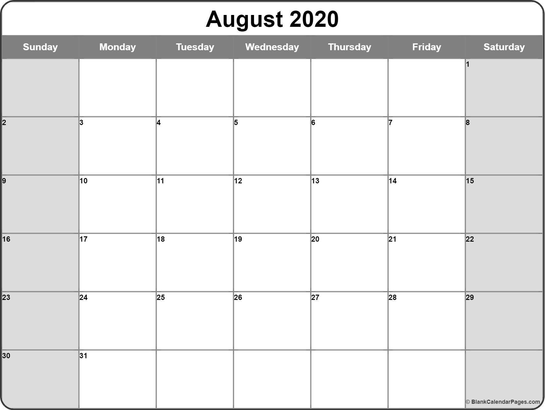 Monday Through Friday Monthly Calendar | Ten Free Monday-Friday Calandar With Lines Printable
