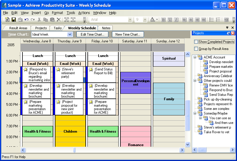 Personal Productivity Software - Get Things Done With Short Timer Calendar Download Free