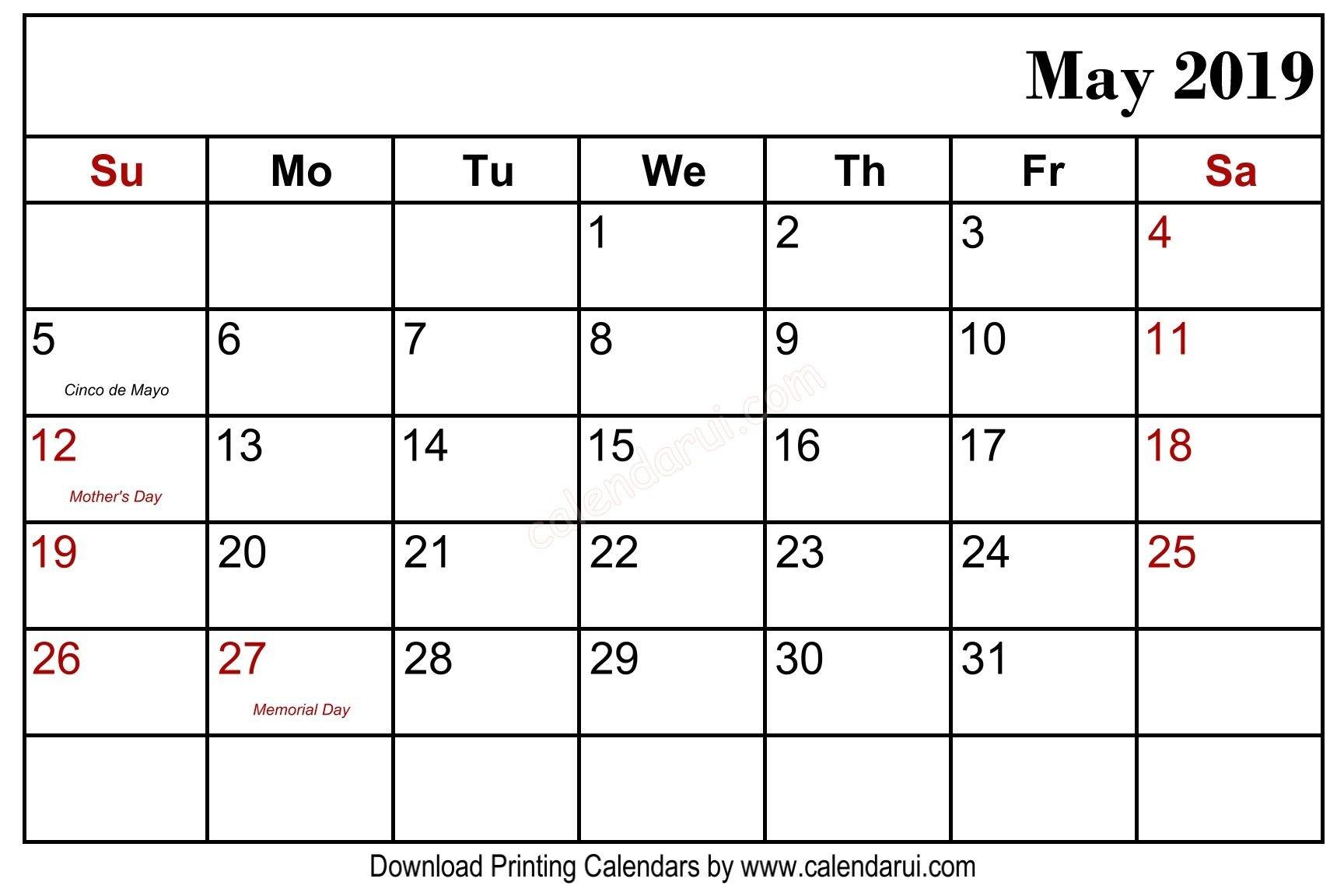 Pick Holiday Calendar 2020 Usa   Calendar Printables Free Free Fillable Monday Through Friday Calendar