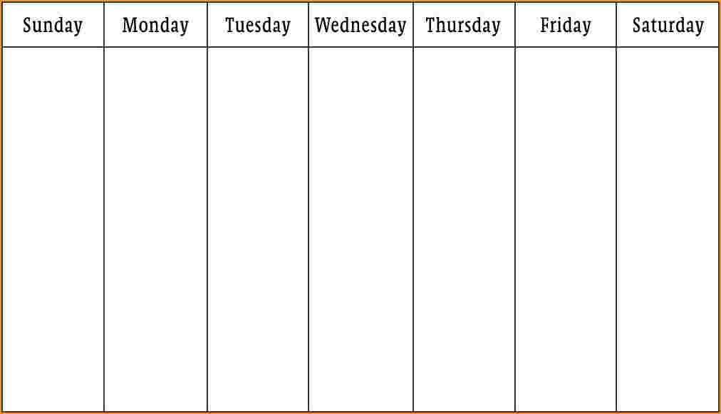 Pintim Kidder On Blank Weekly Calendar | Blank Weekly 4 Week Printable Calendar