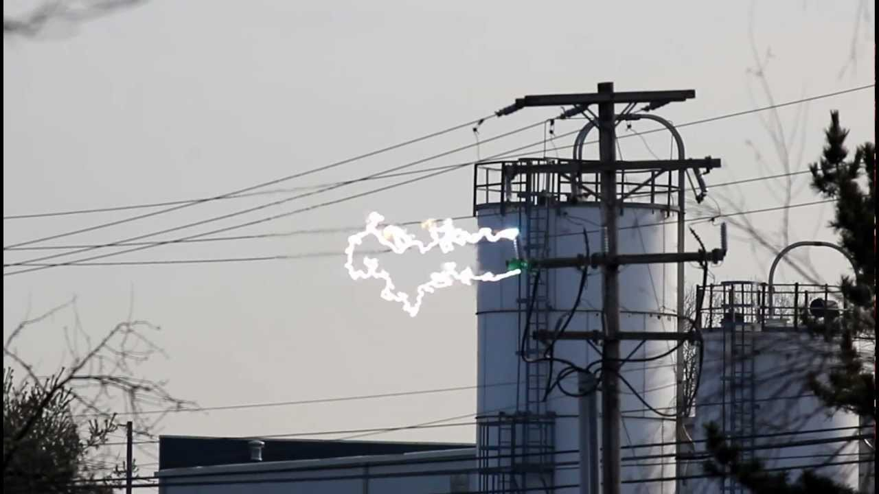 Power Lines Arcing - Youtube Write On Calander With Min Of 16 Line