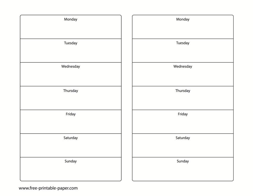 Printable 2 Week Calendar - Two Week Calendar Template Create 2 Week Schedule