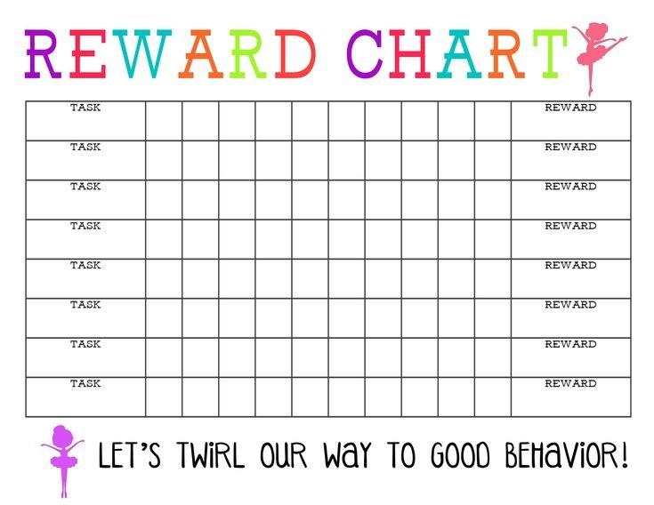 Printable Behavior Chart Template Inspirational Printable Monday Through Friday Chart Wincalnder