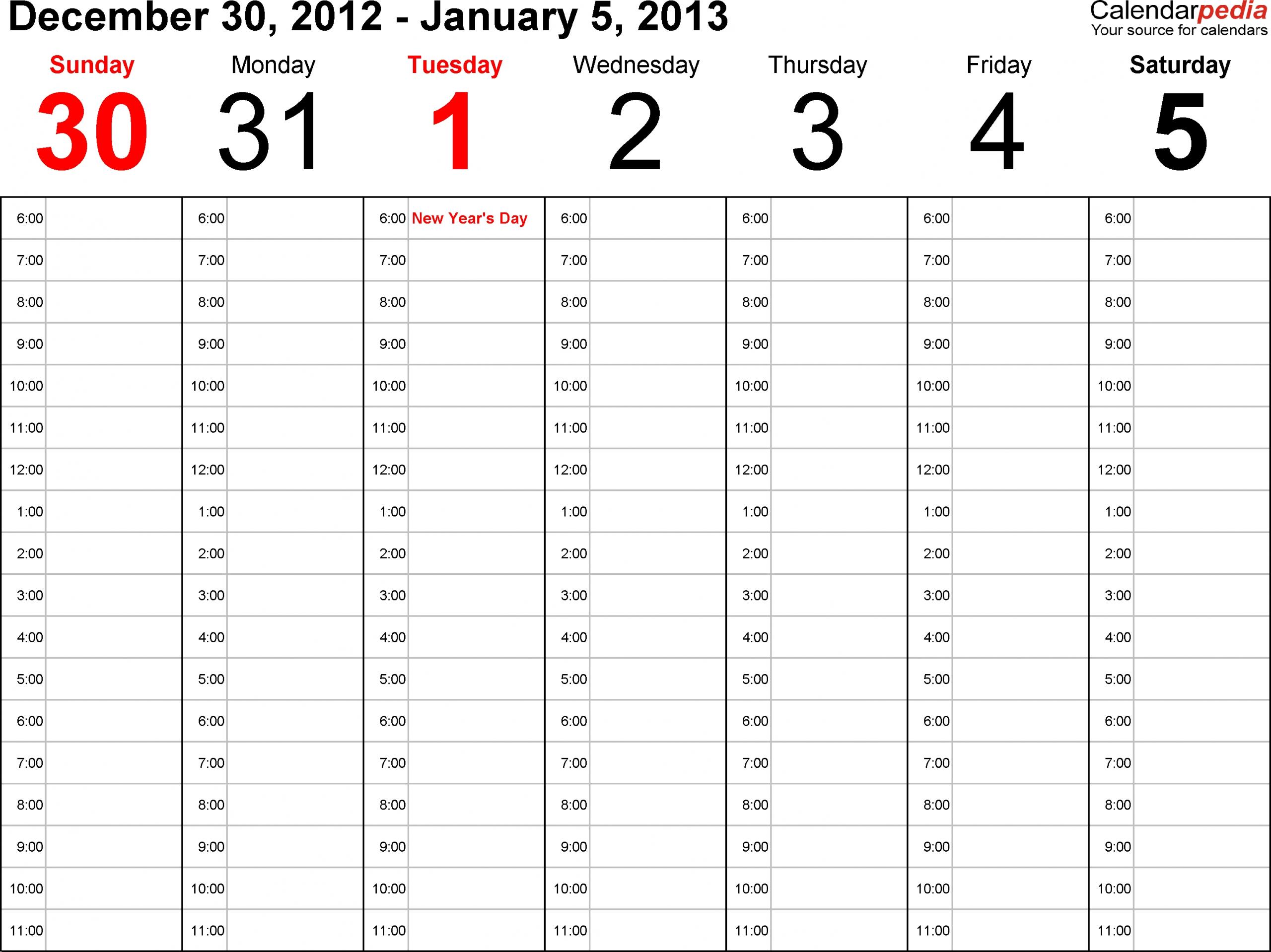 Printable Paper Of A Calinder Of The Next Two Weeks :-Free Two Week Calendar Pdf