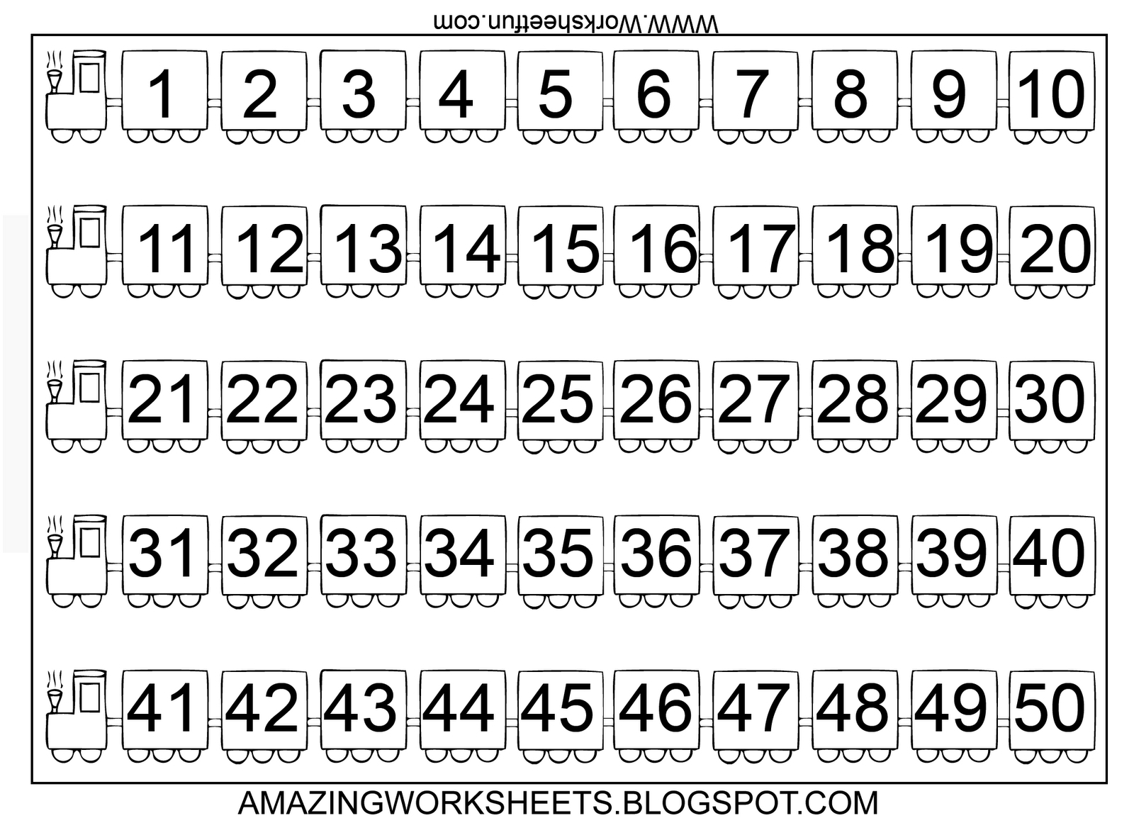 Printable Preschool Numbers 1 31 - Calendar Inspiration Design Printable Numbers 1 - 31