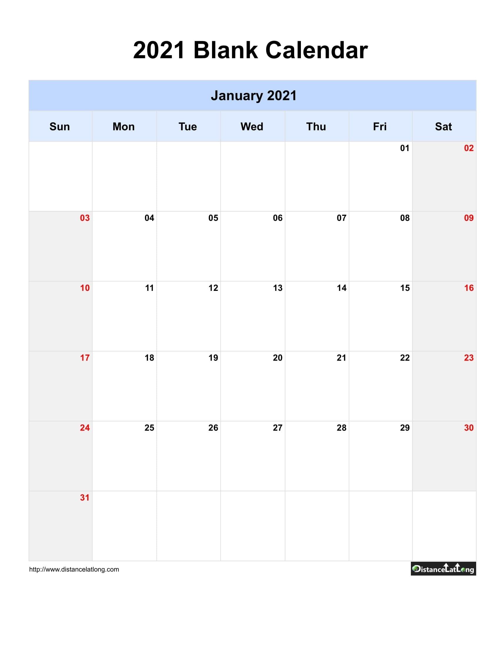 Printable Saturdays Of 201 And 2021 | Ten Free Printable A One Week Calander