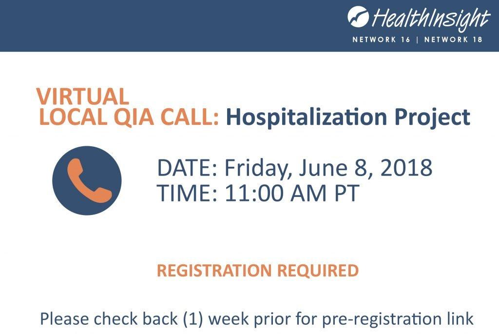 Qia Local Call- Hospitalization Project June On Call Calendar