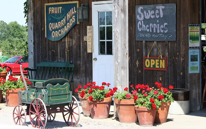 Quarry Hill Orchards | Ohio'S Lake Erie Shores & Islands Erie County Farms Market Schedule