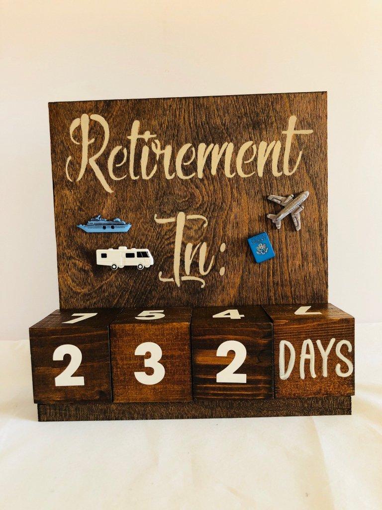 Retirement Calendar Countdown - Calendar Template 2020 Free Countdown Calendar For Retirement