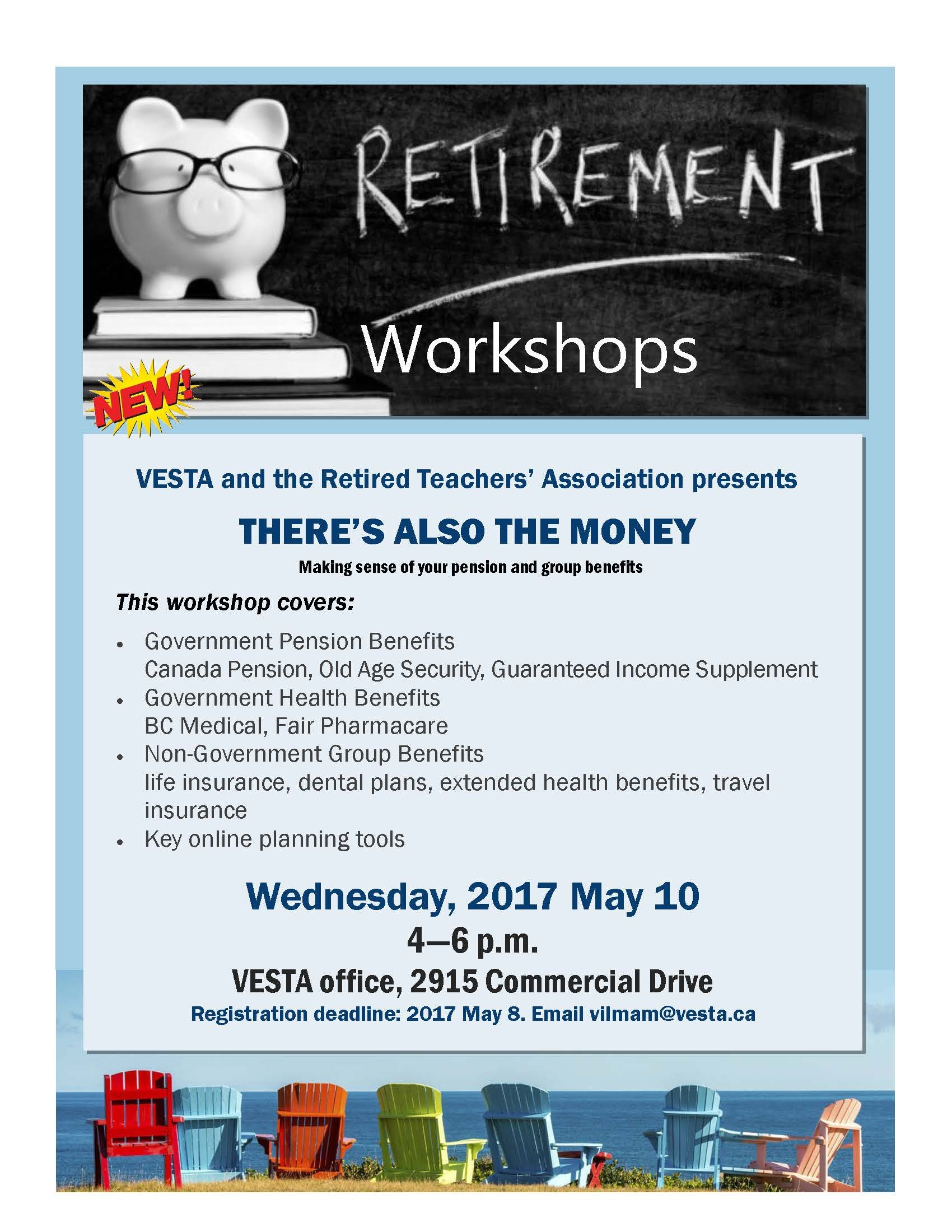 Retirement Workshop - Vancouver Elementary School Teachers Retirement Short Timer Calendar