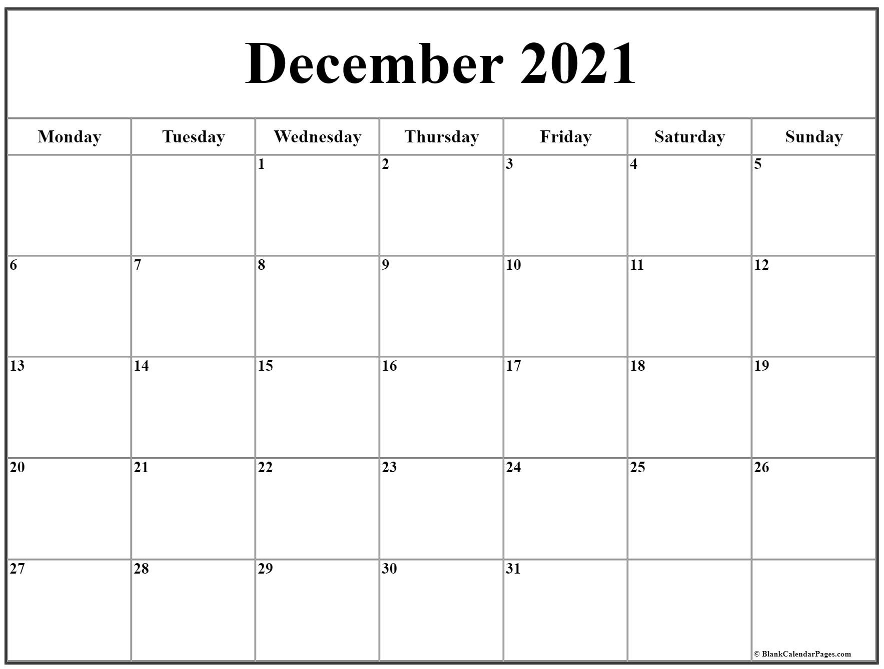 Sunday To Saturday Monthly Calendar 2021 | Calendar Blank Calendar Free Edit Sunday Through Saturday