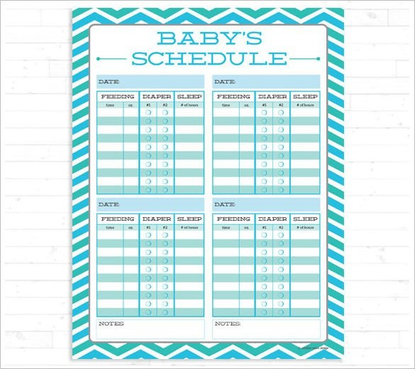 Super Nanny Schedule For Infant #As37 - Advancedmassagebysara Baby Bet Calnder Template