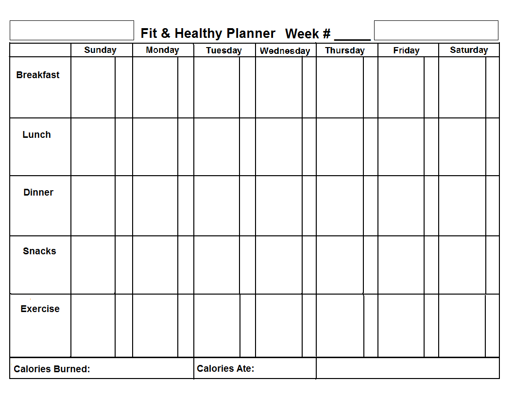 Template   Chore Chart Template, Chart, Food Charts Mon To Friday Template