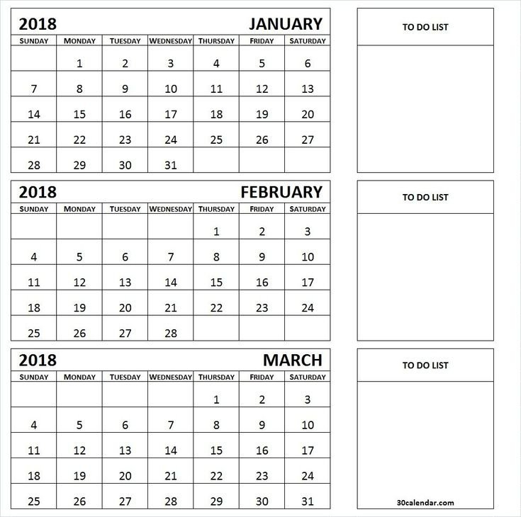 The 3 Month Calendar Template Printable For Certain Print 3 Month Calendar