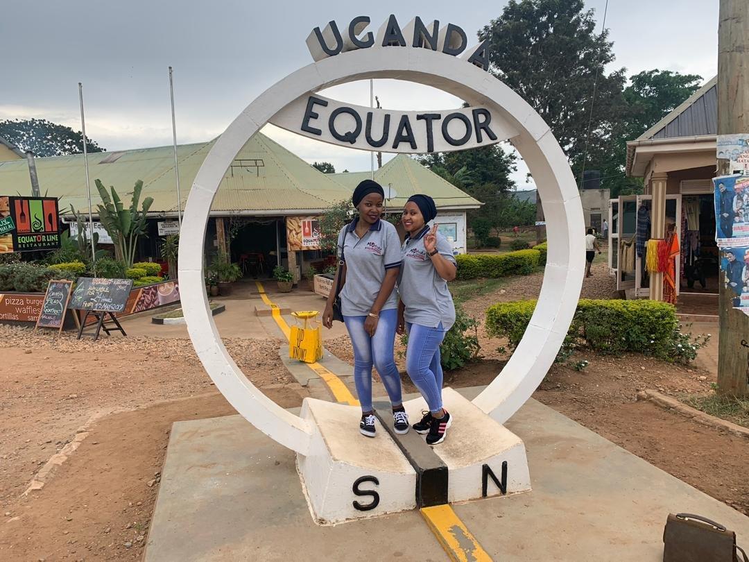 The Uganda Equator Line | Muafrika Adventures Limited Write On Calander With Min Of 16 Line