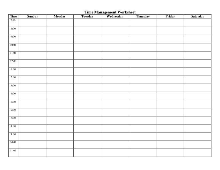 Timesheet Template 6/10Th Hour 7Am - 7Pm - Google Search Free Time Management Calendar