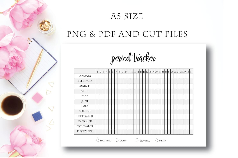 Universal Menstrual Chart Printable Free | Get Your Printable Menstrual Cycle Calendar Free