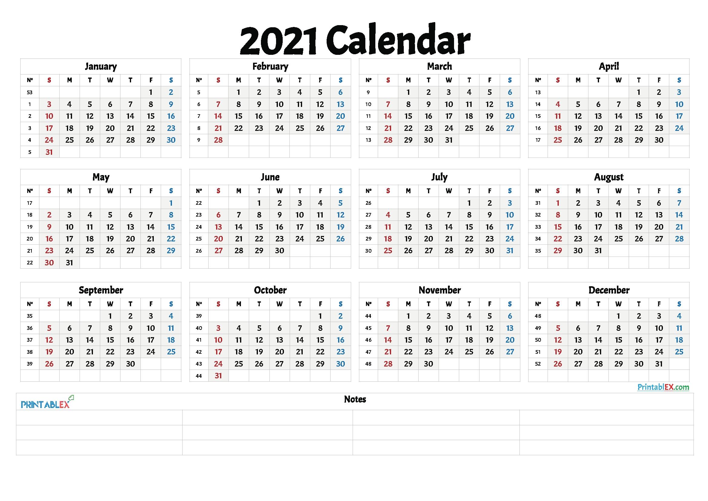 Week Calendar 2021 Pdf | Month Calendar Printable One Week Schedual Pdf