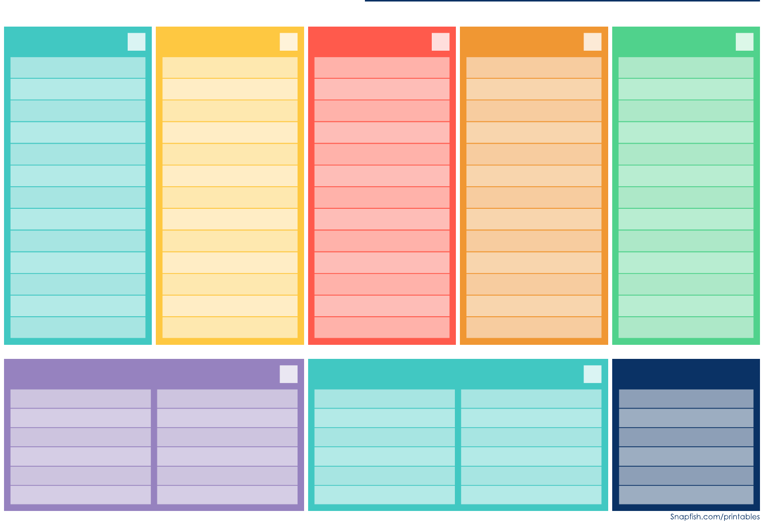 Weekly Meal Planner Template – Edit, Fill, Sign Online Free Fillable Weekly Schedule